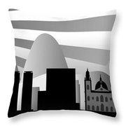 Rio De Janeiro Skyline Throw Pillow