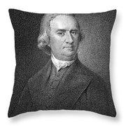 Samuel Adams (1722-1803) Throw Pillow