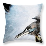 The Wintery Tales Throw Pillow