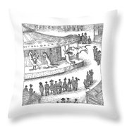 New Yorker June 1st, 2009 Throw Pillow