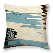 Water Colours  Throw Pillow