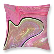 1211 Abstract Thought Throw Pillow
