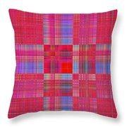 1212 Abstract Thought Throw Pillow