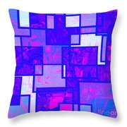 1216 Absract Thought Throw Pillow