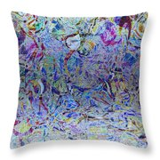 1222 Abstract Thought Throw Pillow