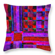 1227 Abstract Thought Throw Pillow