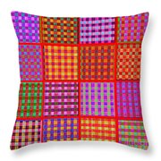 1229 Abstract Thought Throw Pillow