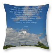 123- Rumi Throw Pillow