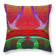 1232 Abstract Thought Throw Pillow