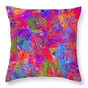 1248 Abstract Thought Throw Pillow