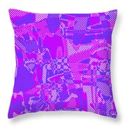 1250 Abstract Thought Throw Pillow