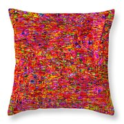 1251 Abstract Thought Throw Pillow