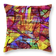 1261 Abstract Thought Throw Pillow