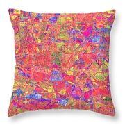 1262 Abstract Thought Throw Pillow