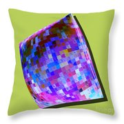1273 Abstract Thought Throw Pillow