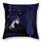 128 - Melancholia ... Throw Pillow
