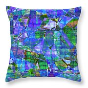 1289 Abstract Thought Throw Pillow