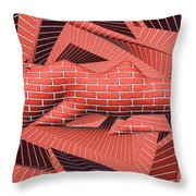 1295 Abstract Thought Throw Pillow