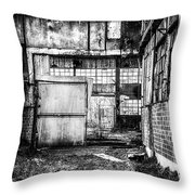 Abandoned Sugarmill Throw Pillow