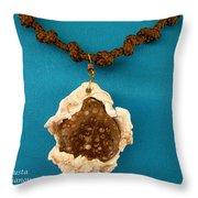 Aphrodite Antheia Necklace Throw Pillow
