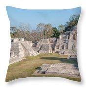 Edzna In Campeche Throw Pillow