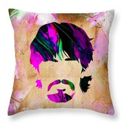 George Harrison Collection Throw Pillow
