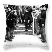 John Brown 1800-1859. For Licensing Requests Visit Granger.com Throw Pillow
