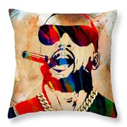 Kanye West Collection Throw Pillow