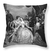 Lady Jane Grey (1537-1554) Throw Pillow