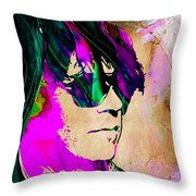 Neil Young Collection Throw Pillow
