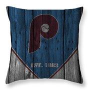 Philadelphia Phillies Throw Pillow