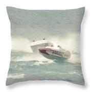Port Huron Sarnia International Offshore Powerboat Race Throw Pillow