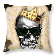 Skull Art Collection Throw Pillow