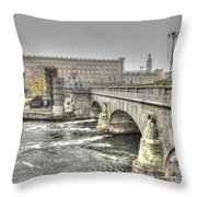 Stokholm  Swiss Throw Pillow