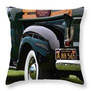 Terra Nova Hs Car Show Throw Pillow
