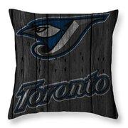 Toronto Blue Jays Throw Pillow