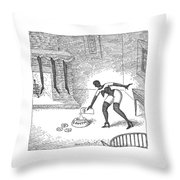New Yorker December 25th, 2006 Throw Pillow