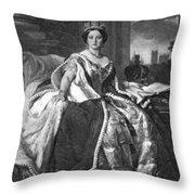 Victoria (1819-1901) Throw Pillow