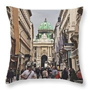 Vienna Austria Throw Pillow