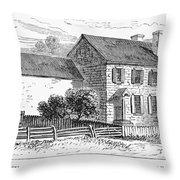 Washington: Headquarters Throw Pillow
