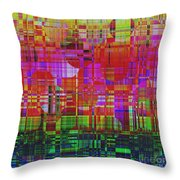 1300 Abstract Thought Throw Pillow