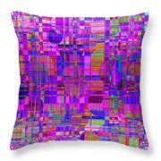 1302 Abstract Thought Throw Pillow