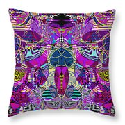 1310 Abstract Thought Throw Pillow