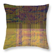 1319 Abstract Thought Throw Pillow