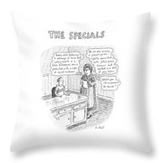 The Specials Throw Pillow