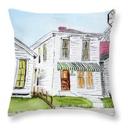 1327 Woerner Ave Throw Pillow