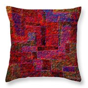 1346 Abstract Thought Throw Pillow