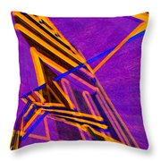 1359 Abstract Thought Throw Pillow