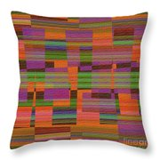 1365 Abstract Thought Throw Pillow