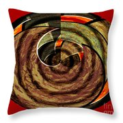 1396 Abstract Thought Throw Pillow